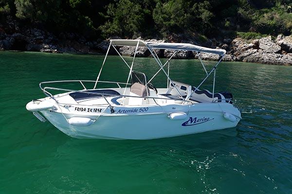 Frida - Nissaki Boat Rental