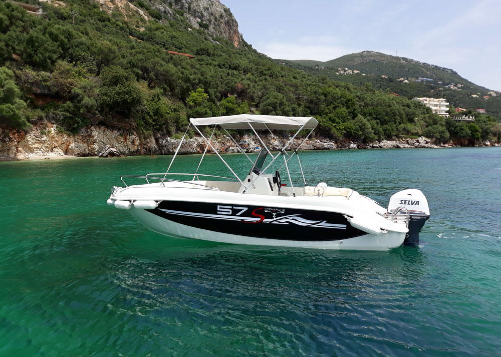 Xenofon - Nissaki Boat Rental